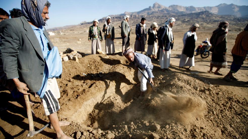 At least 109 civilians killed by Saudi coalition's raids, U.N. says