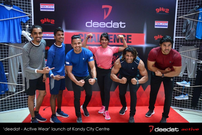 'deedat Challenge' at deedat Active Wear Launch