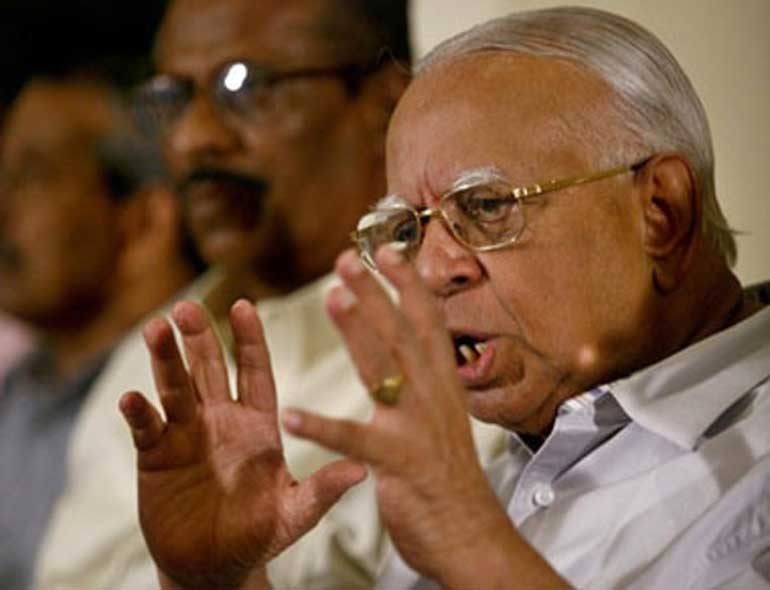 Bring it on says Sampanthan