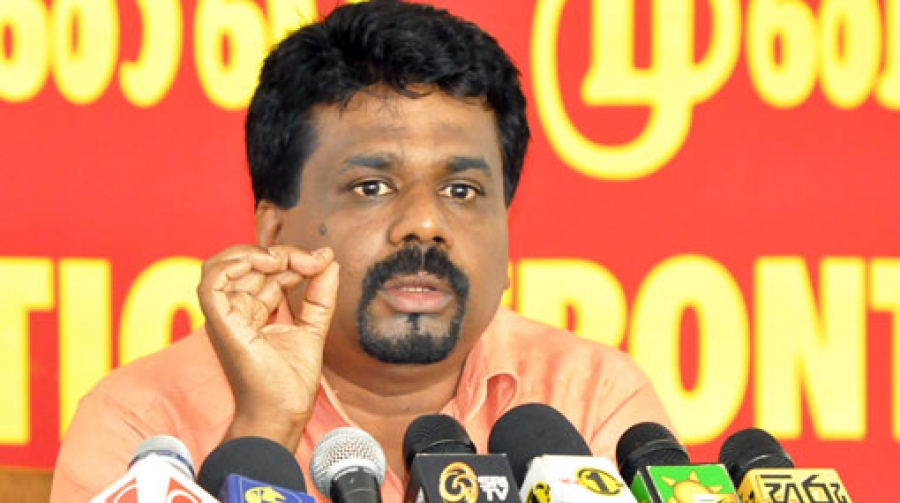 'Defeated wicked force has been allowed to raise its ugly head again' – JVP