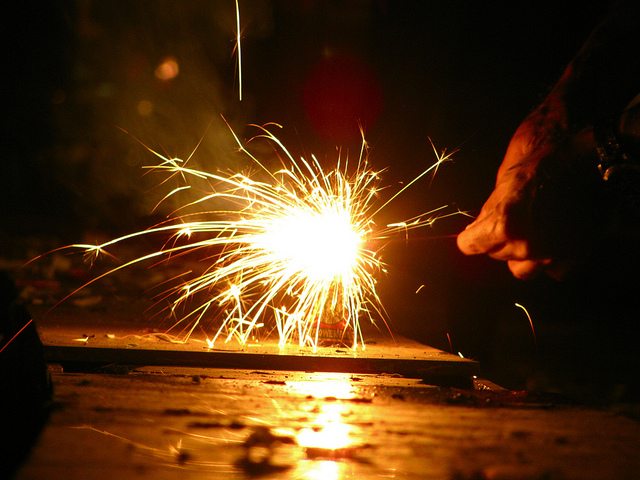 Fire crackers spark several fires in Sri Lanka