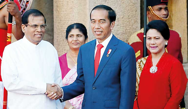 Indonesian President here to boost bilateral ties