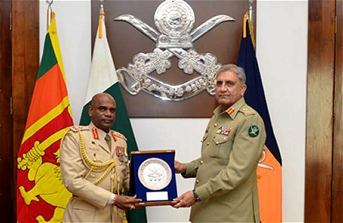 'Sri Lanka, Pakistan are the only two countries which understand what it takes to defeat terrorism' – Pakistan COAS