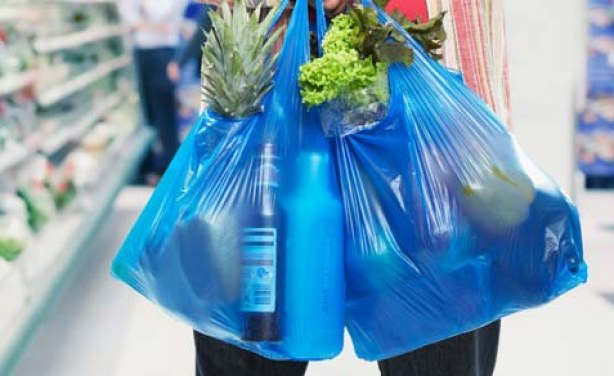 No non-biodegradable shopping bags, lunch sheets from today