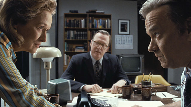 Review: In 'The Post,' Democracy Survives the Darkness