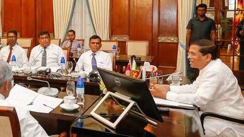 President reviews progress on development projects carried out with the assistance of Tri Forces