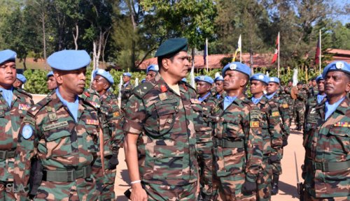 Another batch of Sri Lanka army troops to leave for Lebanon on UN peacekeeping