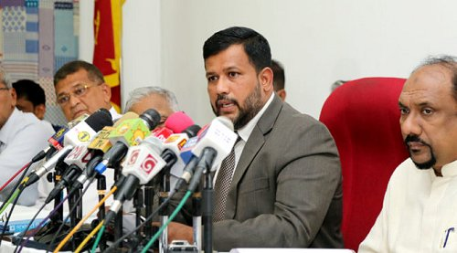 Sri Lanka's Muslim party ACMC calls for leaders to unite for a stable government