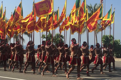 Sri Lanka celebrates 70 years of Independence in a grand ceremony