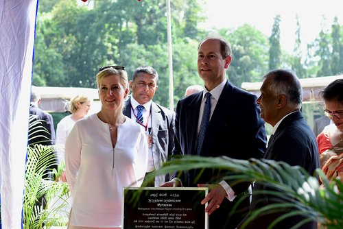 The Earl and Countess of Wessex celebrate UK-Sri Lanka links during visit to Kandy