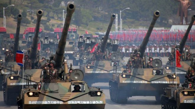 North Korea to hold military parade ahead of Winter Olympics