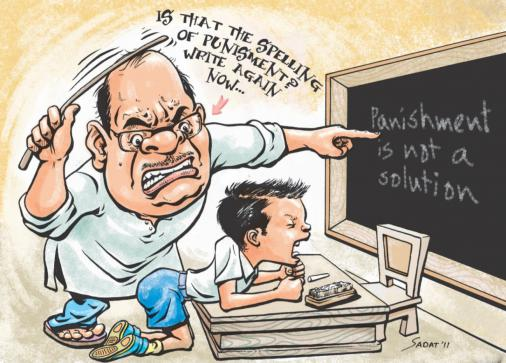Sri Lanka takes measures to eliminate corporal punishment from schools