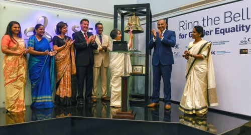 IFC, CSE join to ring the bell for gender equality