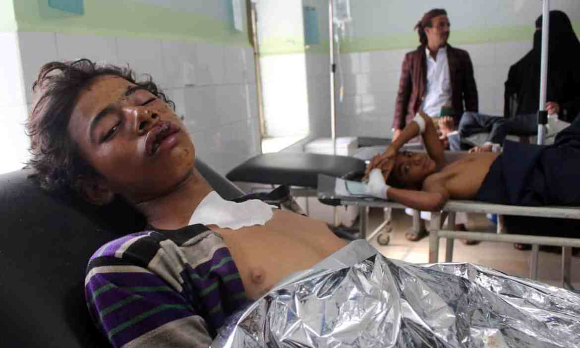 Saudi-led coalition strike kills at least 20 at wedding in Yemen – officials