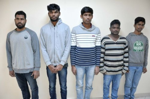 Five Sri Lankans illegally migrated to Azerbaijan detained