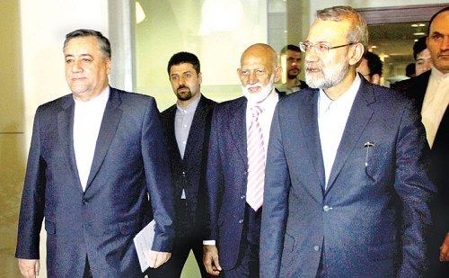 Iranian parliament Speaker arrives in Sri Lanka