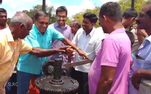 Water released to Kaudulla Reservoir for Yala cultivations in Polonnaruwa