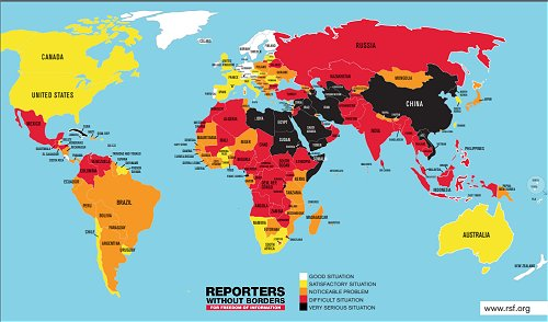 Sri Lanka significantly improves in press freedom climbing 10 notches in World Press Freedom Index