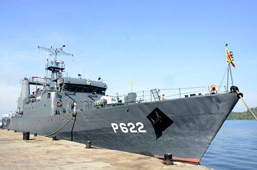 Sri Lanka Navy's SLNS Sagara leaves for Indonesia to attend Multilateral Naval Exercise Komodo
