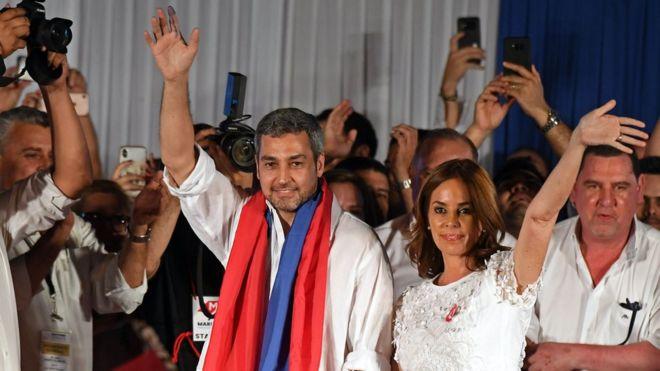 Mario Abdo Benítez wins Paraguay's presidential election