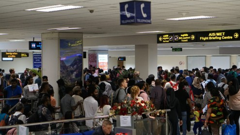 SriLankan Airlines urges passengers to arrive at BIA three hours early