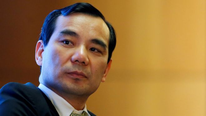 Former head of China's Anbang jailed for 18 years