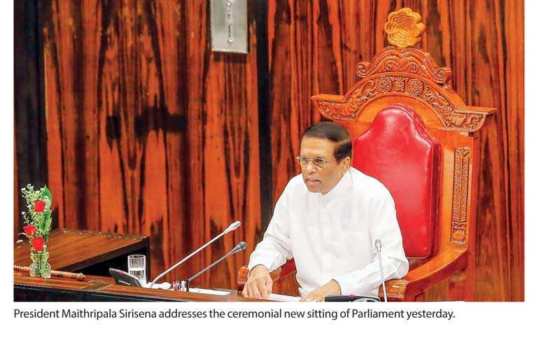 Lack of political maturity cause of Unity Government discord: President