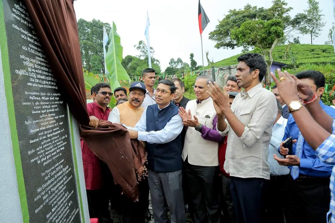 Indian housing project extends to Madakumbura & Vellaioya estates