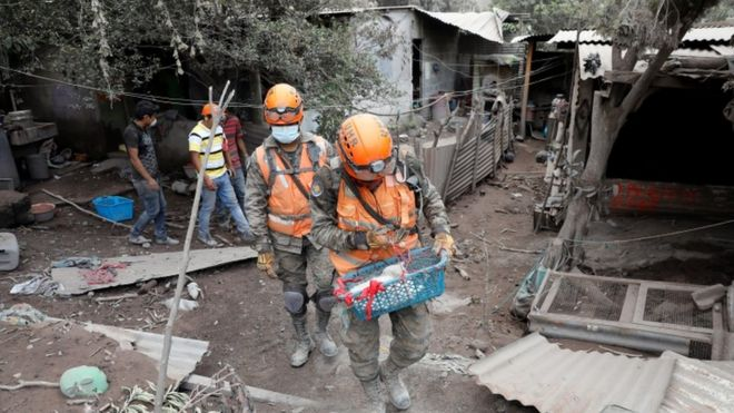 Guatemala volcano: Emergency agency 'failed to heed warnings'