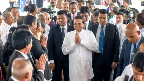 Sri Lanka President stresses government's responsibility to strengthen the rule of law