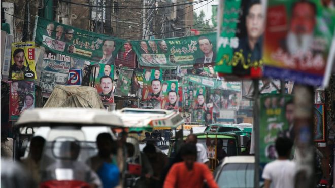 Pakistan's Imran Khan vies for power as country heads to polls
