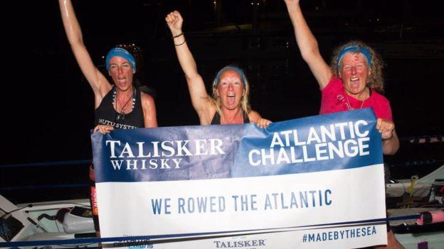 Deaf woman, 60, rows Atlantic Ocean in world first