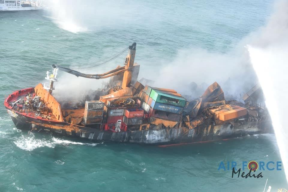 Captain of the MV X-Press Pearl vessel arrested