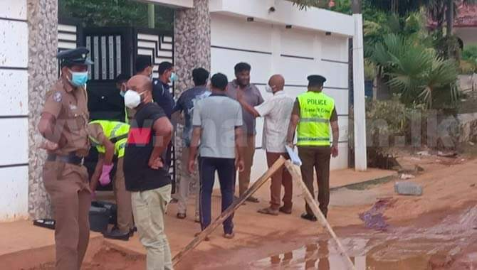 Truck driver shot dead by Police constable assigned for State Minister Viyalendran's house security