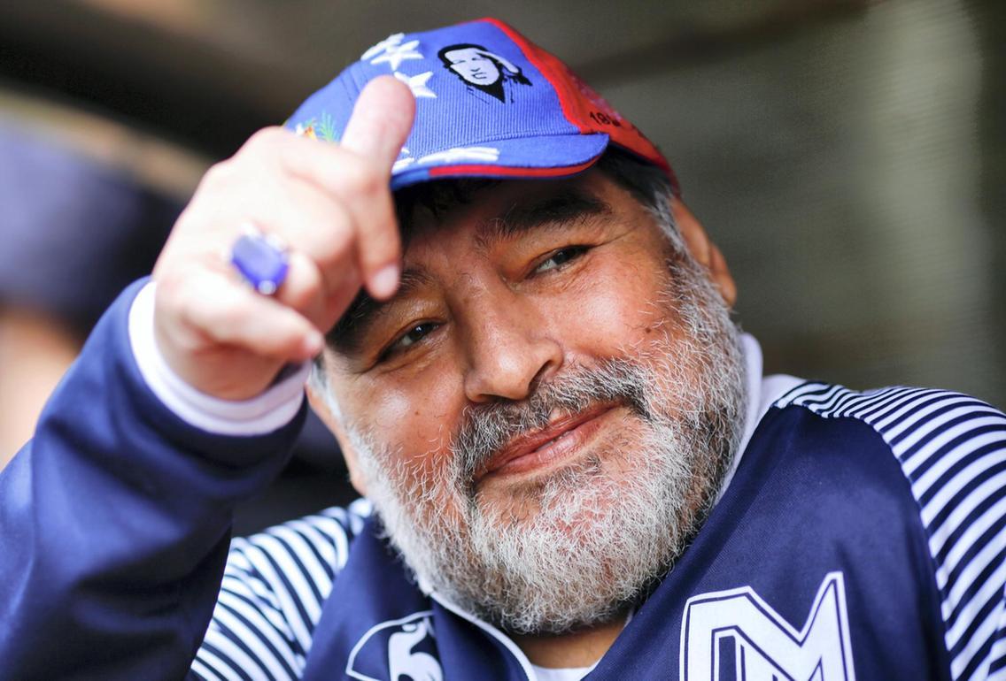 Argentinian football legend Diego Maradona dies at age 60