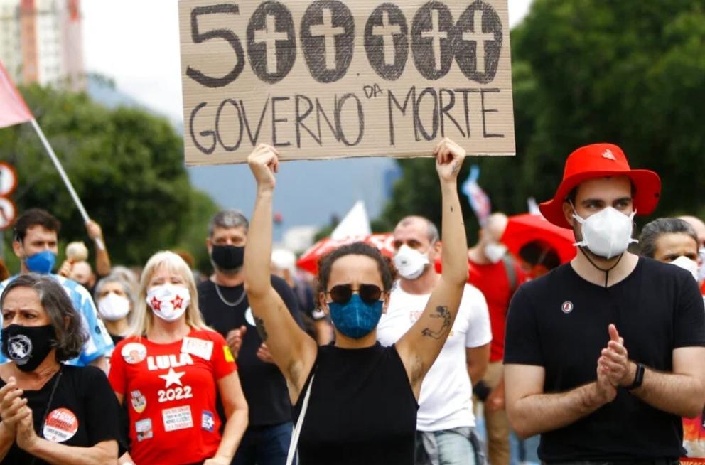 Brazil exceeds 500,000 Covid-19 fatalities