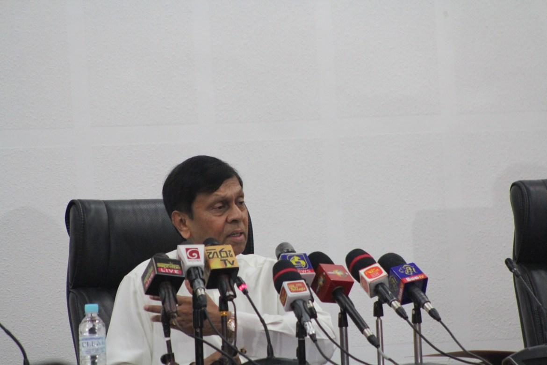 SRI LANKA STATE MINISTER REFUTES IMF STATEMENT