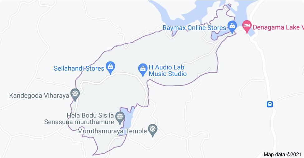 A person shot in Kandegoda