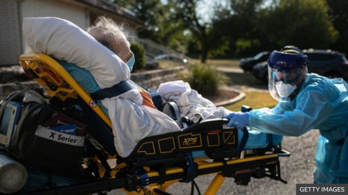 US hits record CV-19 cases and hospitalisations