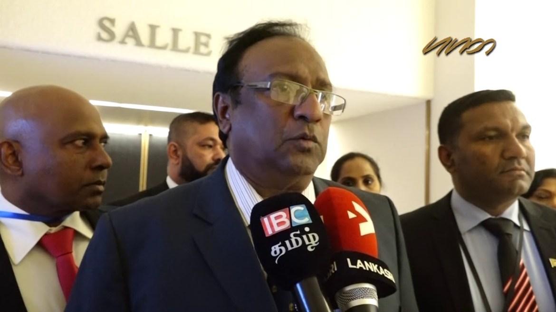 MINISTER WEERASEKERA DEMOLISHES MANUSHA NANAYAKKARA CLAIMS