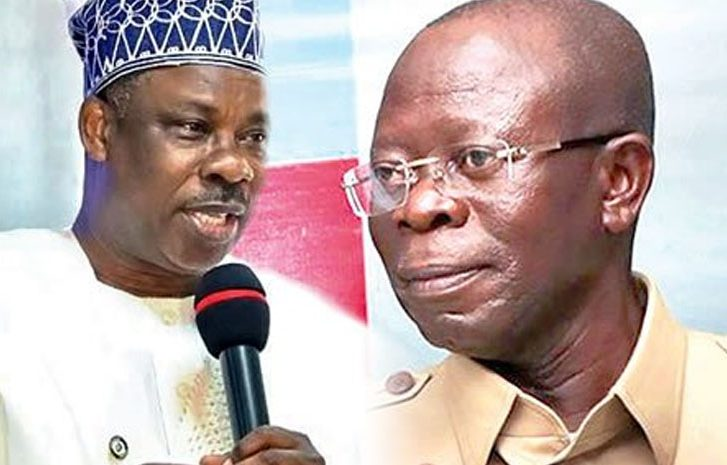 Image result for Governor Amosun replies Oshiomhole