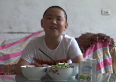 Boy, 11, Eats Five Meals A Day To Save Father's Life 1