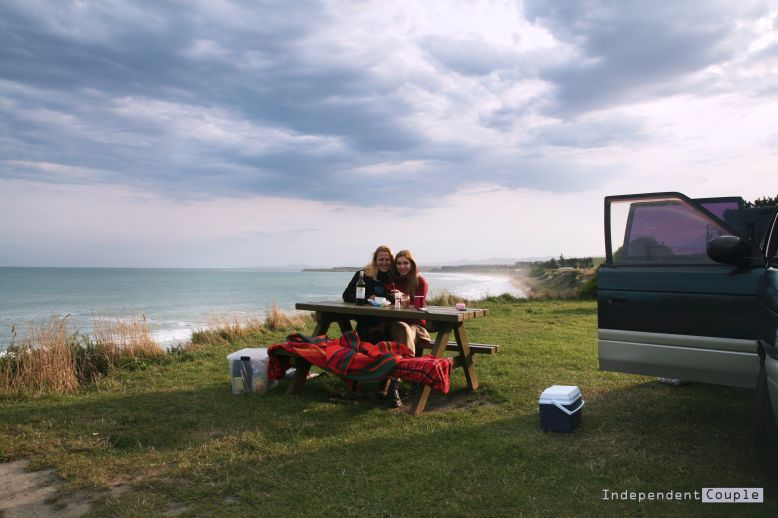 Backpackers lifestyle in New Zealand