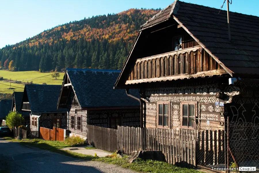 Čičmany a Strážovské vrchy