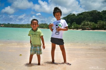 Our friend's kids in Samoa have been our guides throuth the Savai'i Island. photo by ©Radoslav Cajkovic