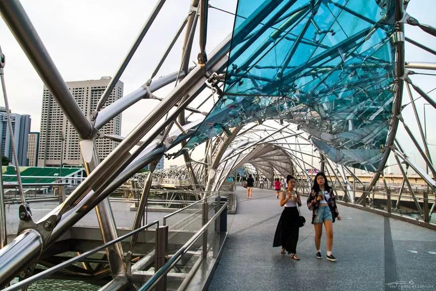 Helix Bridge, Singapore Helix Bridge,