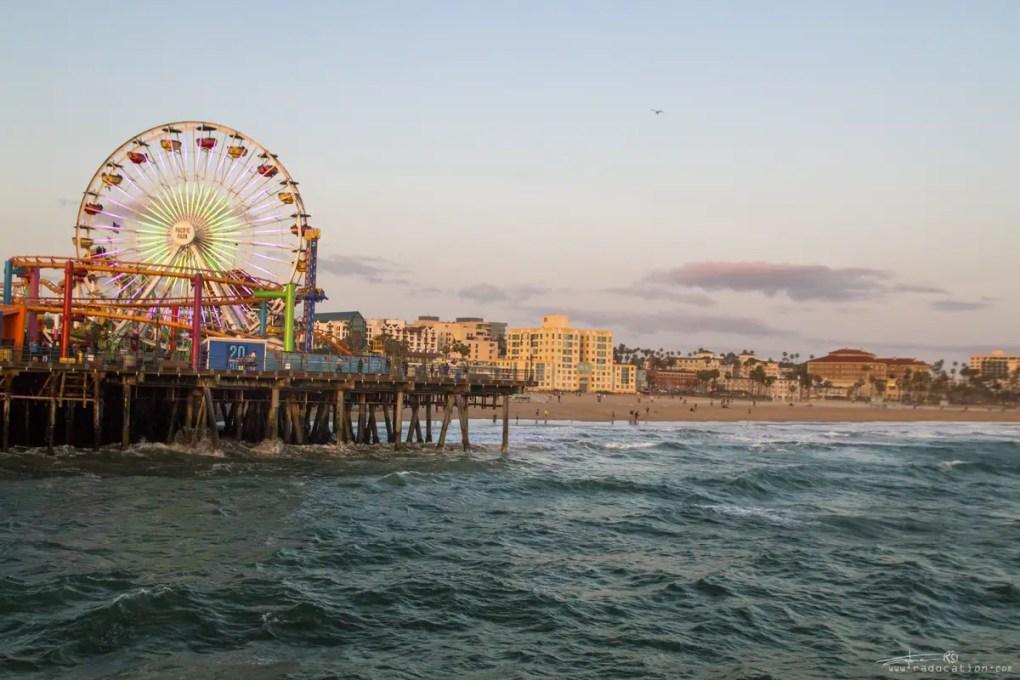 Santa Monica Beach, Los Angeles travel, travel blog, road trip usa, top travel destinations USA,