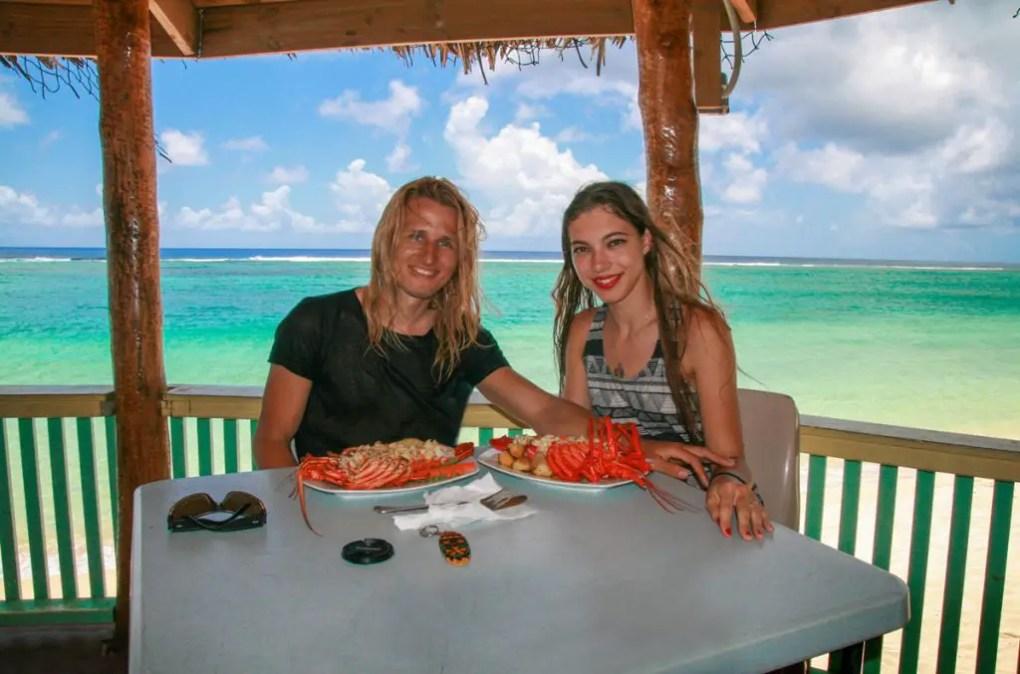Independent couple, Samoa, travelers, travel Samoa, couple traveling the world, travel blog, travel couple blog, Samoa food, Samoa holiday, Samoa travel