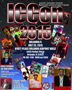 ICC's very first Convention, it's official! JUL 25TH in Orlando, FL !