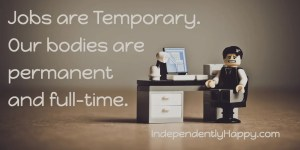 jobs are temporary